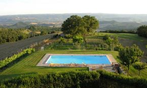 Photo of one of the swimming pool in a umbria property | property for sale in Orvieto