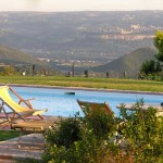Photo of swimming pool in the country | italyrealproperty.com